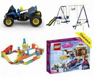 精选数百款儿童玩具、益智玩具、户外玩具等2.5折起清仓!