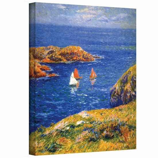 历史新低!Art Wall 平静的海面 24x32英寸帆布装饰画1.1折 20.66加元清仓!