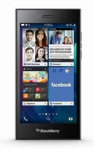 历史新低!Blackberry 黑莓 LEAP STR100-2 16GB 5英寸解锁版智能手机2.7折 94.72加元限量特卖并包邮!