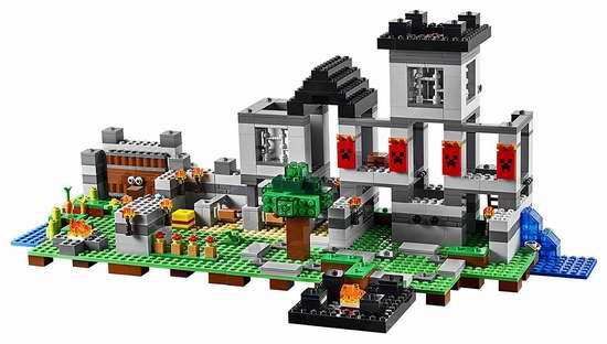 LEGO 乐高 Minecraft 21127 堡垒要塞 83.92加元,the bay同款价 139.99加元,包邮
