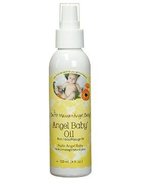Earth Mama Angel Baby地球妈妈 天使宝贝 宝宝按摩油 13.59加元,原价 16.99加元