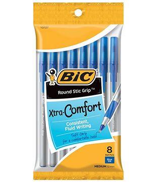 BIC 蓝色圆珠笔 0.97加元(8支 ),原价 3.38加元
