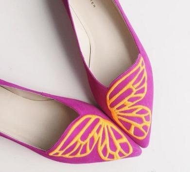 SOPHIA WEBSTER Bibi 蝴蝶平底鞋 227加元(8.5码),原价 455加元,包邮
