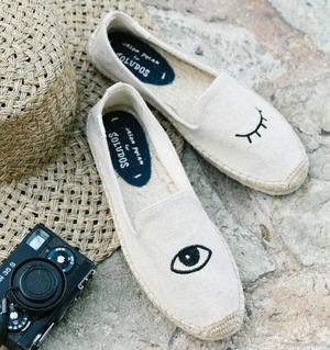 好穿又时髦!精选Soludos渔夫鞋 4折起优惠!