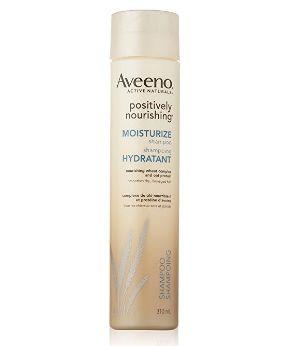 Aveeno Positively天然燕麦蛋白保湿洗发水、护发素 5.67加元(310ml)!