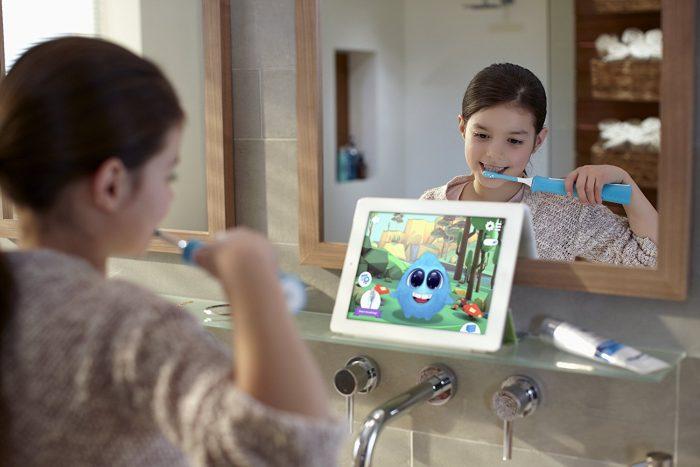 Philips Sonicare 飞利浦 蓝牙版儿童电动牙刷 44.96加元,原价 59.96加元,包邮