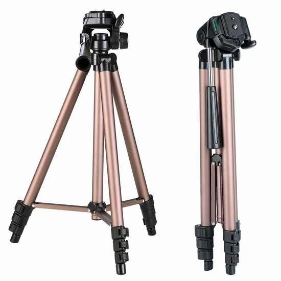 速抢!历史新低!K&F Concept TL20231 轻质铝合金 相机三脚架3.4折 25.99加元限量特卖并包邮!