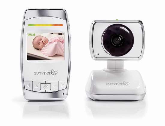 金盒头条:历史新低!Summer Infant 29253 无线WiFi婴儿监控器6.1折 139.99加元包邮!