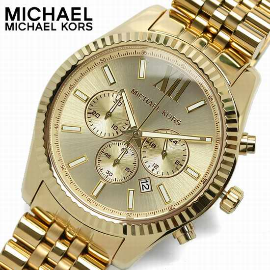 历史新低!Michael Kors MK8281 Lexington 金色三眼计时 男士腕表/手表5.2折 173.04加元包邮!