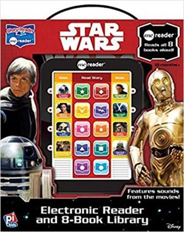 白菜价!ME READER STAR WARS 星球大战系列故事书8件套+有声阅读器套装1.7折 5加元包邮!