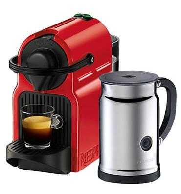 精选多款 Nespresso Inissia 胶囊咖啡机及咖啡机+奶泡机套装 99.99-149.99加元+满100加元立减15加元!