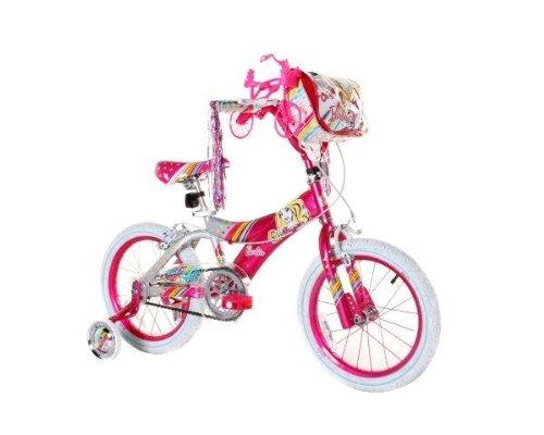历史新低!Dynacraft Barbie 16英寸豪华芭比女童自行车 113.2加元包邮!