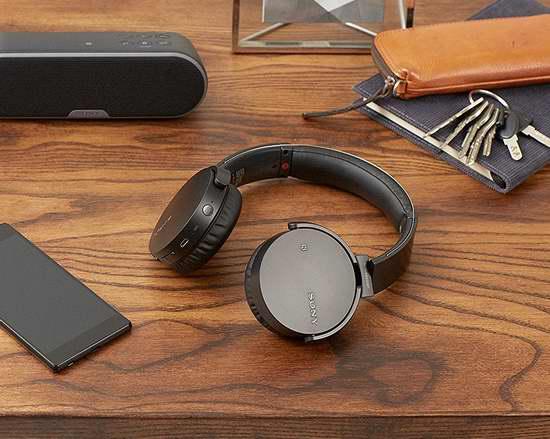历史最低价!Sony 索尼 MDRXB650BT 头戴式超重低音 蓝牙无线耳机4.9折 98加元包邮!两色可选!