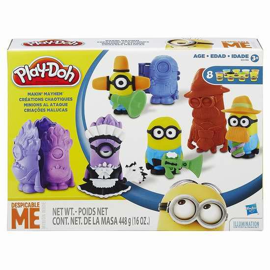 历史新低!Play-Doh 培乐多 Makin Mayhem 小黄人彩泥玩具套装2折 5加元清仓!