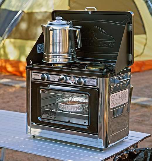 历史新低!Camp Chef Camping 双口户外烤箱/燃气炉5折 218.95加元包邮!