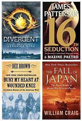 金盒头条:精选31款纽约时报推荐最畅销图书Kindle电子版2折起特卖!仅售1.99-4.99加元!