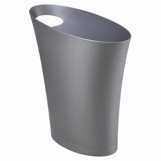 历史新低!Umbra Skinny 2加仑塑料垃圾桶4.5折 5加元!