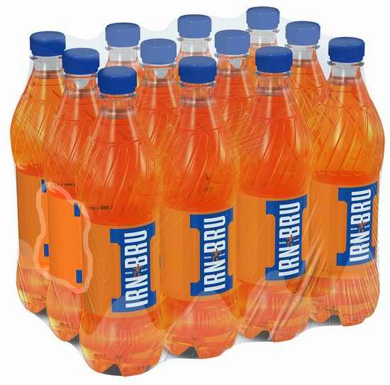 历史新低!苏格兰国宝级饮料 Irn Bru(500ml x 12瓶)5.1折 35.99加元包邮!