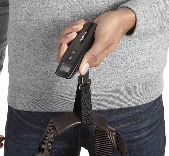 AmazonBasics 数字式行李秤 9.99加元!