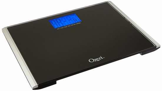 白菜价!历史新低!Ozeri Precision Pro II 高精度数字式体重秤1.4折 9.95加元清仓!