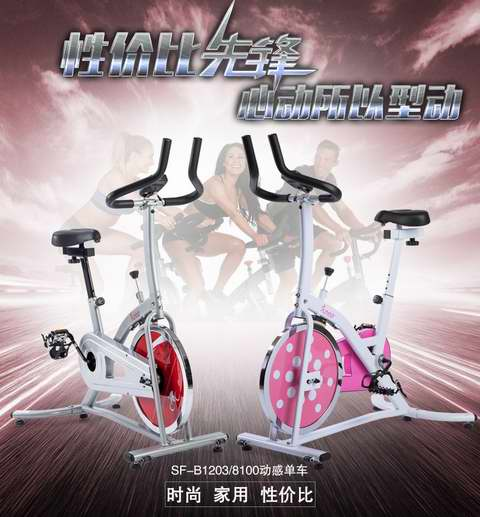 Sunny Health and Fitness SF-B1203 炫彩动感 家用静音健身自行车 204.88加元包邮!