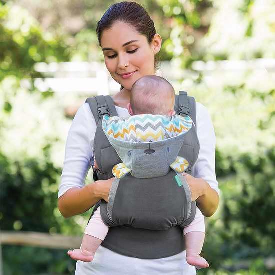 历史最低价!Infantino Cuddle Up 连帽婴儿背带6折 47.99加元包邮!