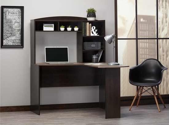 历史新低!Altra Furniture Sutton L型书桌/办公桌 182.2加元包邮!