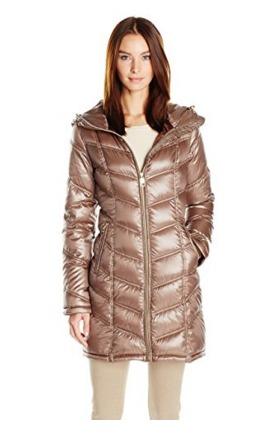 逆季清仓!Calvin Klein 女式时尚中长羽绒服 69.63加元包邮!