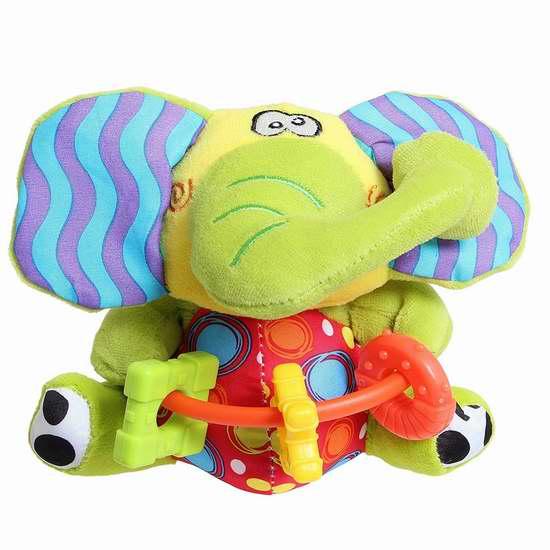 历史新低!Playgro Playmate 婴儿大象玩偶 5.58加元!