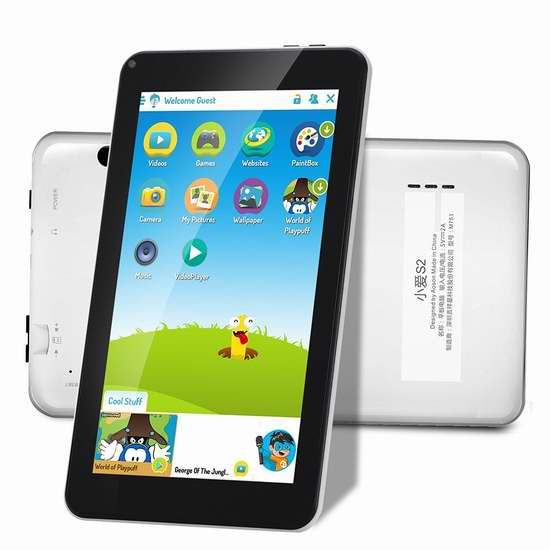 AOSON 7英寸16GB儿童平板电脑 61.96加元限量特卖并包邮!