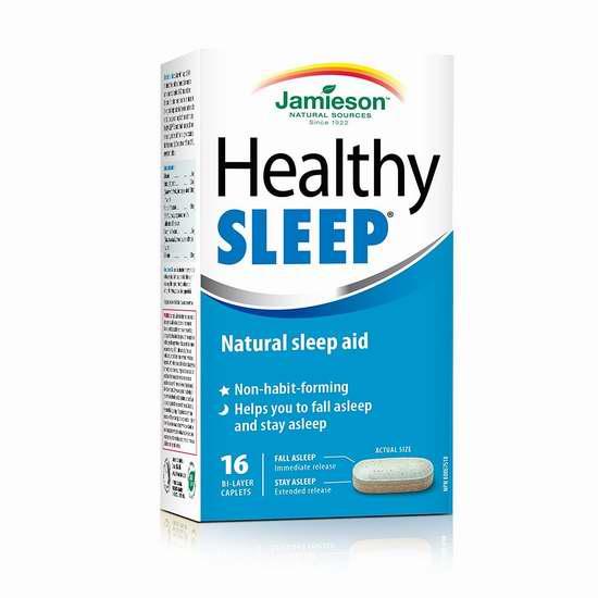 历史新低!Jamieson 健美生 健康睡眠配方16片装6折 7.49加元!