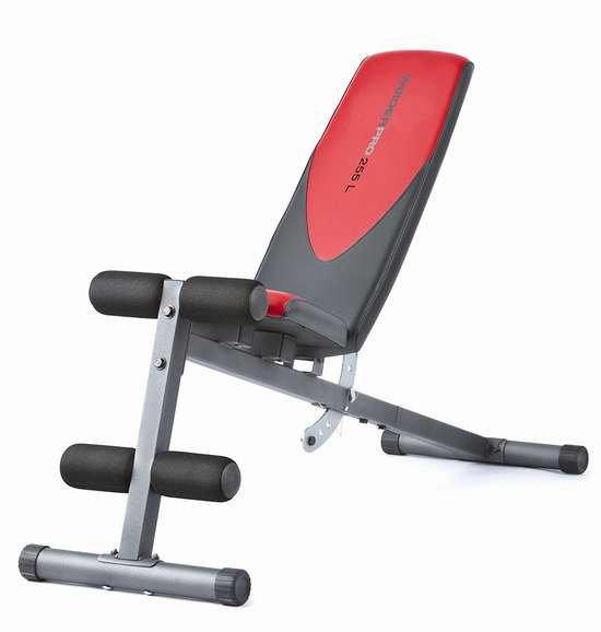 历史新低!Weider Incline 健身凳5.6折 62.38加元包邮!