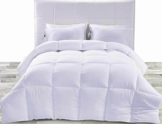白菜价!Utopia Bedding Twin/Queen/King仿羽绒被1.8折 24.99-29.99加元清仓!