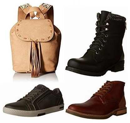精选14款 Steve Madden 时尚鞋靴、背包、手袋、特价销售,额外再打7折!