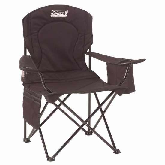 历史新低!Coleman Oversized Quad 超大便携式折叠椅4.4折 21.96加元清仓!