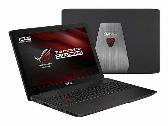历史新低!ASUS 华硕 ROG 玩家国度 GL552VW-DH74 15.6寸游戏笔记本电脑6.7折 1199加元包邮!