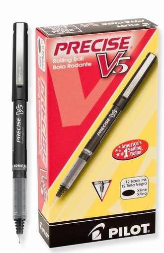 金盒头条:历史最低价!Pilot Precise V5 超细笔尖圆珠笔12支装3.8折 12加元!3色可选!
