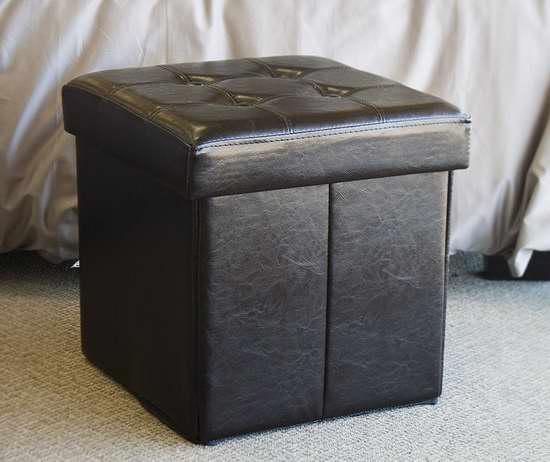 Down Under 可折叠人造革脚踏凳 29.99加元限量特卖并包邮!