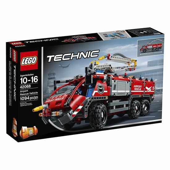历史新低!新品促销!LEGO 乐高 42065 科技组 遥控履带赛车(1094 pcs)7.7折 99.99加元包邮!