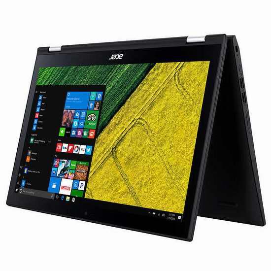 历史新低!Acer 宏碁 Spin SP315-51-3684 15.6寸触控屏笔记本电脑(6GB/1TB) 529.99加元包邮!
