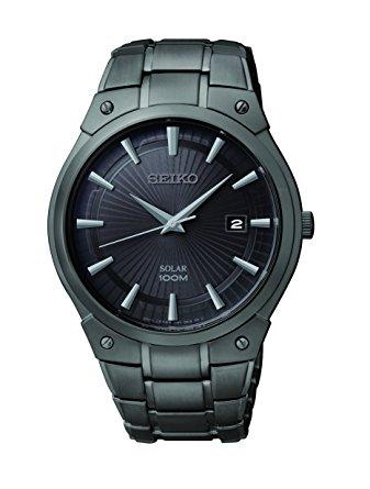 历史新低!Seiko 日本精工 SNE325 全钢光动能 男士腕表/手表6.1折 167.04加元包邮!