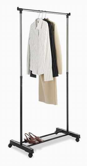 Whitmor 6021-3079 时尚镀铬晾衣架3.9折 21.36加元!