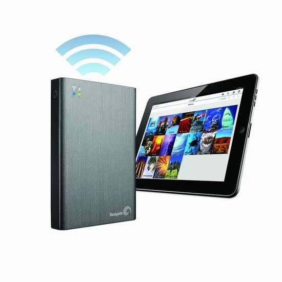 历史新低!Seagate 希捷 STCV2000100 Plus 2TB 便携式WiFi无线移动硬盘6折 149.99加元包邮!