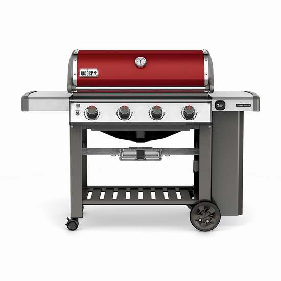 历史新低!Weber 62030001 Genesis II E-410 液化气BBQ烧烤炉7.7折 998加元包邮!