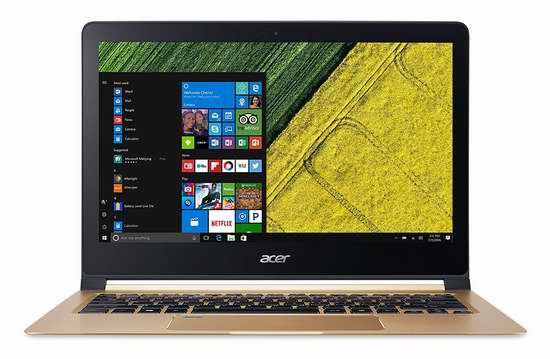 历史新低!Acer 宏碁 Swift 7 13.3英寸超薄笔记本电脑(i7/8GB/512GB SSD)7.4折 1253.12加元包邮!