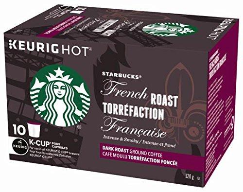 历史新低!Starbucks 星巴克 法式烘焙咖啡Kcups胶囊60枚6.8折 41.94加元包邮!