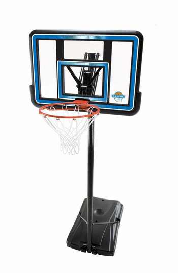历史新低!Lifetime 90023 44英寸便携式可调高度篮球架5折 150加元包邮!