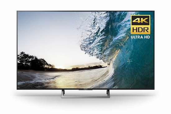 历史最低价!2017新款 Sony 索尼 XBR75X850E 75寸4K超高清智能电视5折 2498加元包邮!