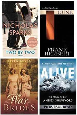 金盒头条:精选36款最畅销Kindle电子书2折起特卖!售价低至1.99加元!