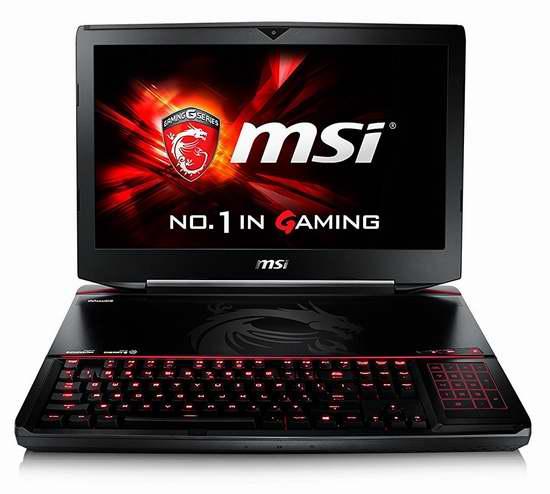 历史新低!MSI 微星 GT80S 6QE-013US Titan SLI 18.4寸顶级游戏笔记本电脑6.4折 2999加元包邮!